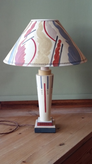 "MYRA MEYNELL, Jazz Base £105.00, 16"" coolie shade £100.00"
